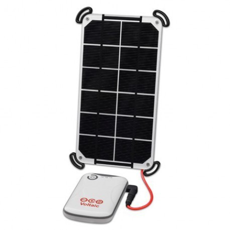 Voltaic 3.5W Solar Charger USB Battery 4Ah Kit