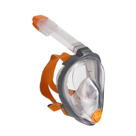 Full Face Snorkeling Mask ARIA grey L/XL