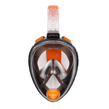 Full Face Snorkeling Mask ARIA black L/XL