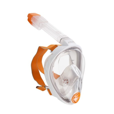 Full Face Snorkeling Mask ARIA grey S/M