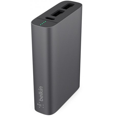 Belkin MIXIT↑™ Metallic Power Pack 6600 Gray