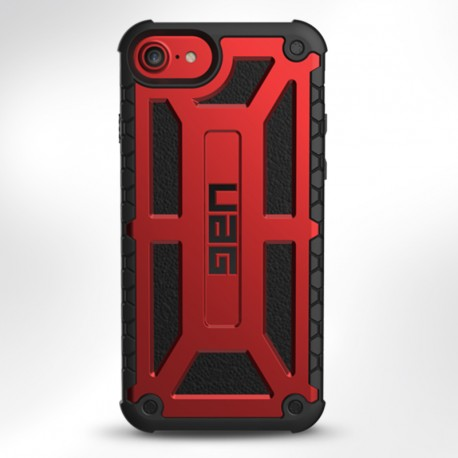 UAG Case for iPhone 7/6S Plus (5.5 Screen) Monarch-Crimson/Black/BlackLogo